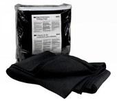 3M 5919 Black Welding Blanket - 57 in Width - 80 in Length - 051131-05919