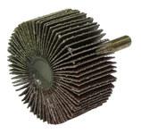 Weiler Tiger Coated Aluminum Oxide Flap Wheel - 1 in Face Width - 2 in Diameter - 52015