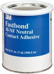3M Fastbond 30NF Contact Adhesive Off-White Liquid 1 qt Container - 21180