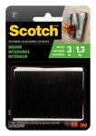 3M Scotch RF7051 Hook & Loop Tape - 2 in Width x 3 in Length - 80310
