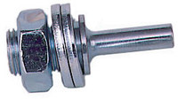 Weiler Polyflex 1/2 in Arbor - Use With 3 in Polyflex Small Diameter Wheel - Stem Length: 7/8 in - 07721