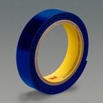 3M SJ3402 Blue Hook & Loop Tape - Hook with 300 hooks/in Stem Count - 4 in Width x 50 yd Length - 64318