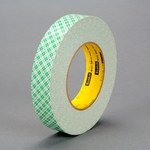 3M 401M Off-White Bonding Tape - 1 1/2 in Width x 36 yd Length - 9 mil Thick - Paper Liner - 91713