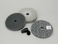 3M Scotch-Brite XL-WL Unitized Deburring Disc & Wheel Set - Medium Grade(s) Included - 6 in Diameter Included - 16405