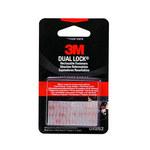 3M Dual Lock SJ3962 Black Hook & Loop Tape - Mushroom Hook with 250 stems/in Stem Count - 1 in Width x 36 yd Length - 63309