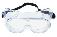 3M 334 Polycarbonate Standard Safety Goggle Clear Lens - Direct Vent - 078371-62139