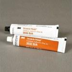 3M Scotch-Weld 3532 Two-Part Base & Accelerator (B/A) Off-White Urethane Adhesive - Paste 2 fl oz Kit - 20878