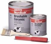 Loctite Nordbak 87333 Gray Ceramic Epoxy - Liquid 6 lb Kit - Two-Part Base & Accelerator (B/A) 2.75:1 Mix Ratio - 98732