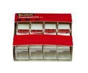 3M Scotch 4184 Clear Office Tape - 3/4 in Width x 850 in Length - 93548