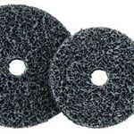 Dynabrade Fiber Disc - Very Coarse Grade - 4 1/2 in Diameter - 7/8 in Center Hole - 78377