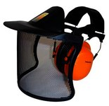 3M Peltor V40AH31A-1P Metal Mesh General Purpose Face Shield & Headgear Set - 093045-93654