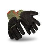 HexArmor 2094 Black/Green 10 Kevlar/Wool Heat-Resistant Glove - 2094 SZ 10