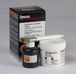 Devcon 17602 White Ceramic Epoxy - Liquid 2 lb Tub - 5.6:1 Mix Ratio - 11770