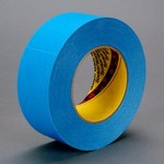 3M R3187 Blue Splicing & Core Starting Tape - 4 in Width x 60 yd Length - 7.5 mil Thick - 58893