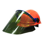 Chicago Protective Apparel General Purpose Face Shield & Headgear Set - 10 cal/cm² Protection Value ARC Thermal Protection Value 10 cal/cm² - SW-WVK