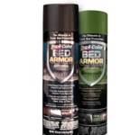 Dupli-Color Bed Armor BAA2010 Black Bed Liner - Liquid 16.5 oz Aerosol Can - With Kevlar - 01355