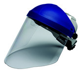 3M 82782-00000 Blue Propionate Face Shield Headgear - Ratchet Adjustment - 078371-82782