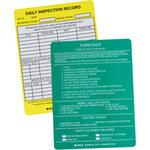 Brady Forkliftag FLT-ETSI 519 Forklift Tag Insert - 14387