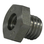 Weiler 5/8-11 Adapter - Use With Small Angle Grinder Brush (3/8-24 UNF) - 07746