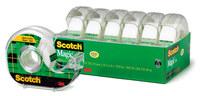 3M Scotch 6122MP Magic Clear Office Tape - 3/4 in Width x 650 in Length - 50250