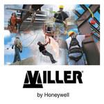 Miller 8195 White Polyester Rope - 100 ft Length - 612230-00989