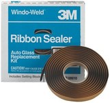 3M Windo-Weld 8622 Attachment Automotive Tape - 3/8 in Width x 15 ft Length - 08622