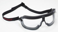 3M Fectoggles 16412-00000-10 Large Polycarbonate Standard Safety Goggle Clear Lens - Non-Vented - 078371-62324