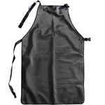 PIP Temp-Gard 202-2000 Black Silicone Welding & Heat-Resistant Apron - 24 in Width - 36 in Length - 616314-86441