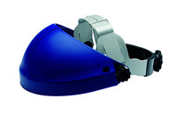 3M 82501-00000 Blue Thermoplastic Face Shield Headgear - Ratchet Adjustment - 078371-82501