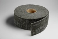 3M Scotch-Brite WW-RL S/C Silicon Carbide SC Deburring Roll - Ultra Fine Grade - 6 in Width x 30 ft Length - 19662