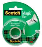 3M Scotch 122L-GC Magic Clear Office Tape - 3/4 in Width x 900 in Length - 83456