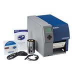 Brady Bradyprinter BP PR600+-PPR Desktop Label Printer with Peel & Present - Single Color - 9.8 in/sec - 600 dpi - BP-PR600+-PPR