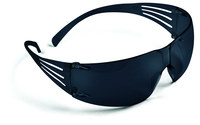 3M SecureFit SF202AS Polycarbonate Standard Safety Glasses Gray Lens - Wrap Around Frame - 078371-65721
