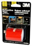 3M Scotchlite 03459 Red Reflective Automotive Tape - 2 in Width x 36 in Length