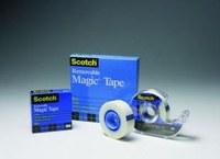 3M Scotch 811 Office Tape - 1 in Width x 2592 in Length - 19247