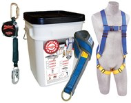 Protecta Compliance in a Can Roofer's Fall Protection Kit - Polyester Webbing - 8 ft Length - 840779-00092