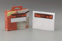 3M Scotch F1-PL Clear Label Protective Envelope - 4 1/2 in Width - 73809