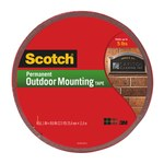 3M Scotch 4011 Foam Mounting Tape - 1 in Width x 450 in Length - 67748