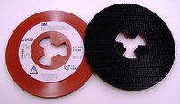 3M 7 in - Smooth Faceplate -  8,600 RPM - Extra Hard Density - 20439