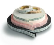 3M 8087W White Splicing & Core Starting Tape - 48 mm Width x 66 m Length - 3.05 mil Thick - 65805