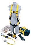 DBI-SALA Roofer's Fall Protection Kit - Polyester Webbing - 50 ft Length - 840779-00067
