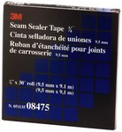 3M 08475 Black Flashing Tape - 3/8 in Width x 30 ft Length - 20 mil Thick