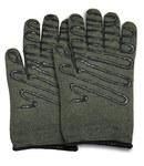PIP Kut-Gard 43-851 Dark Green Large Kevlar/Preox Hot Mill Glove - 11 in Length - 616314-56086
