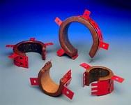 3M RC-1 28 gauge steel Fire Barrier Restricting Collar - 2 in Width - 054007-08324