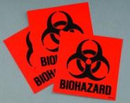 Justrite Bio-Hazad Label Kit - 697841-12261