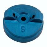 3M 91-071-9 Aluminum Standard Air Cap - Size 9 - 90164