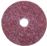 3M Scotch-Brite GB-DH Ceramic Deburring Disc - Coarse Grade - Hook & Loop Attachment - 4 1/2 in Diameter - 7/8 in Center Hole - 60332