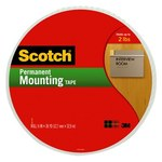 3M Scotch 110MR Foam Mounting Tape - 3/4 in Width x 38 yd Length - 94750