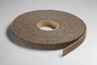 3M Scotch-Brite CP-RL A/O Aluminum Oxide AO Deburring Roll - Medium Grade - 1 in Width x 30 ft Length - 04085