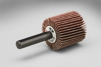 3M 244D Coated Aluminum Oxide Flap Wheel - X Weight - 1 in Face Width - 1 1/2 in Diameter - 20289